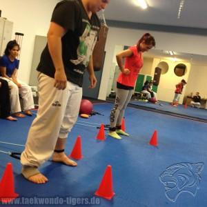 Funktionales Taekwondo Training der Taekwondo Tigers Berlin in Reinickendorf