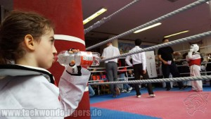 Taekwondo Tigers Berlin Wedding beim King of Kick in Marzahn