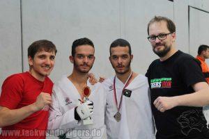 Die Taekwondo Tigers Berlin auf der Norddeutschen Meisterschaft im Taekwondo